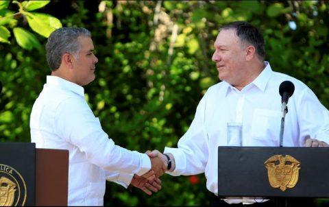 COLOMBIA Y EU ACUERDAN SEGUIR LIDERANDO OPOSICIÓN A MADURO EN LA REGIÓN