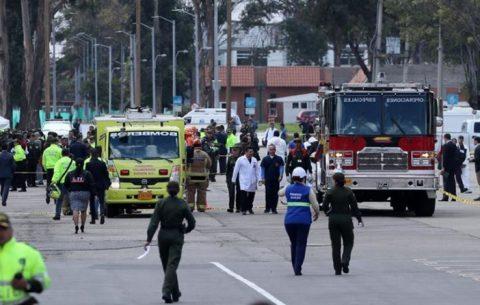 ATENTADO CON COCHE BOMBA EN ESCUELA DE POLICÍA EN COLOMBIA DEJA 9 MUERTOS