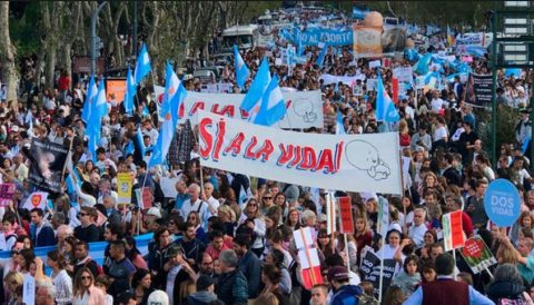 (VIDEO) MARCHA POR LA VIDA EN ARGENTINA CONVOCA A MÁS DE 2 MILLONES DE PERSONAS