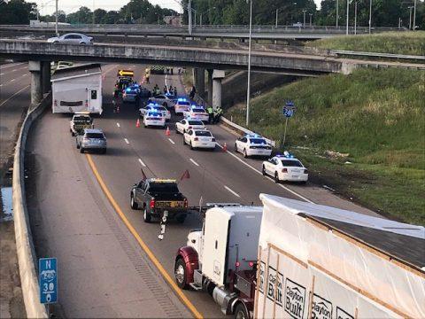 PEATÓN MURIÒ TRAS ACCIDENTE EN LA I-240 CERCA DE UNION AVENUE
