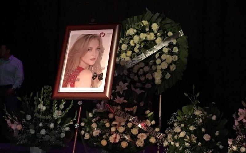 ASÍ DESPIDEN LA MUERTE DE EDITH GONZALES