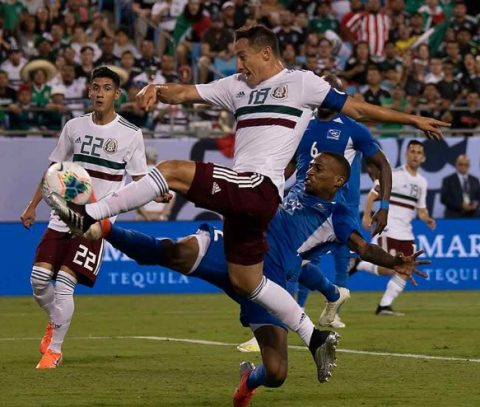 MÉXICO VENCE A MARTINICA 3-2 EN LA COPA ORO